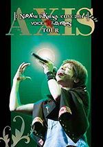 「Naozumi Takahashi A'LIVE 2014 VOICE RENDEZVOUS TOUR-AXIS-」(生産限定版) *DVD+CD